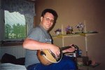Me and my bouzoki guitar, 2001